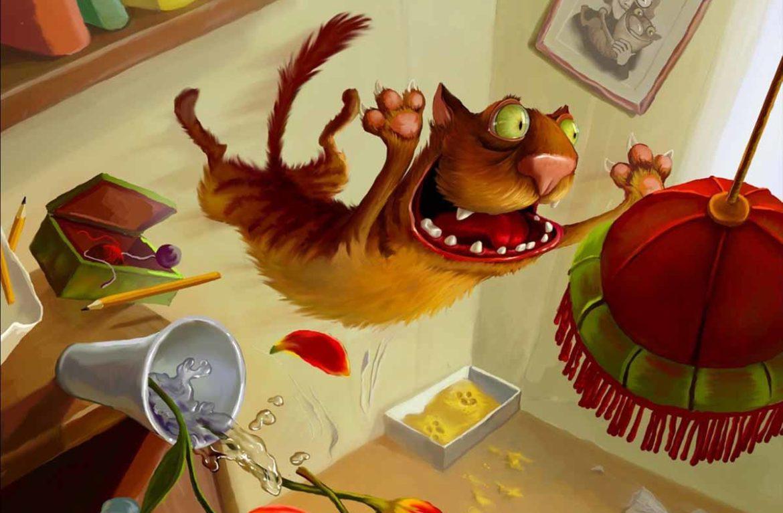 Почему кошки сбрасывают предметы?