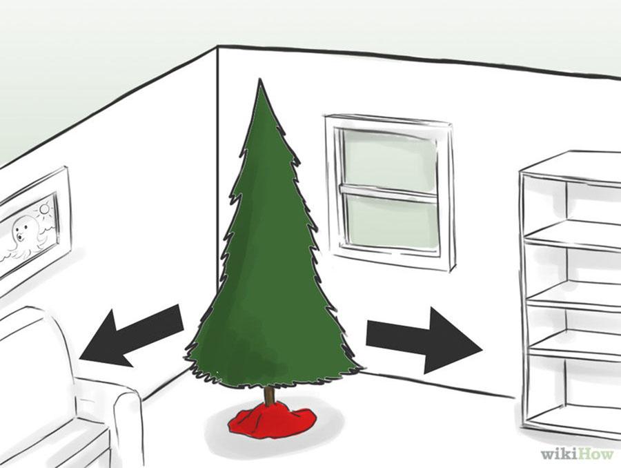 Как уберечь елку от кота
