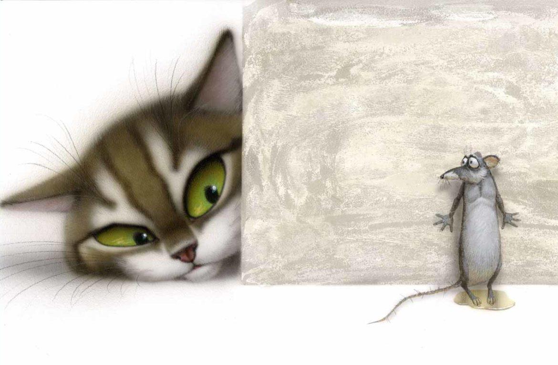 Какая кошка не ловит мышей?