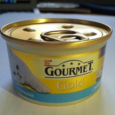 Какой на вкус кошачий корм Gourmet Gold