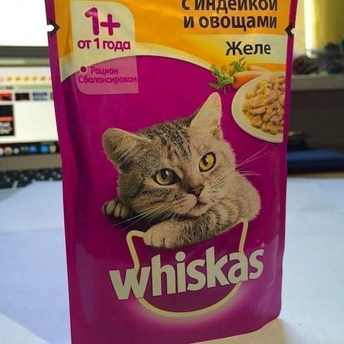 Какой на вкус кошачий корм Whiskas