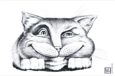 Карикатуры котов и кошек