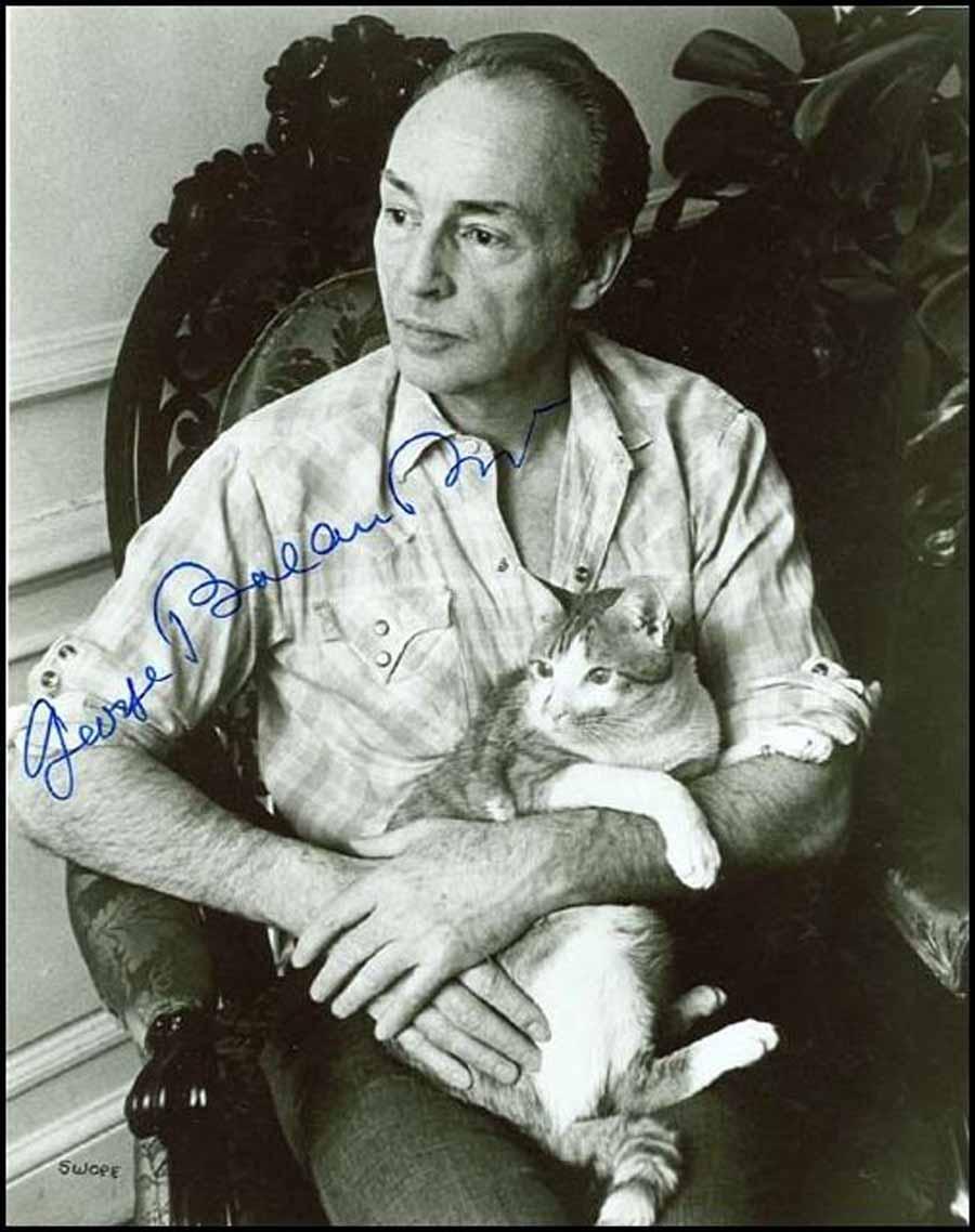 Кошка Джорджа Баланчина