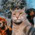 Селфи кота Мэнни с собаками