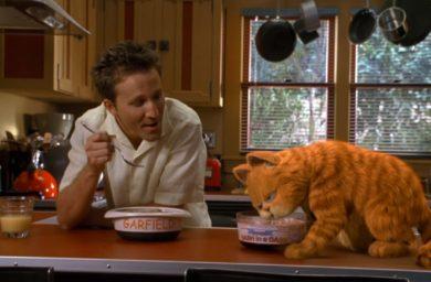 Любимая еда кота Гарфилда