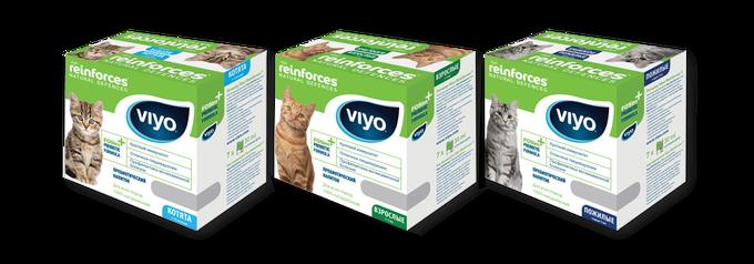 Напиток для кошек Viyo