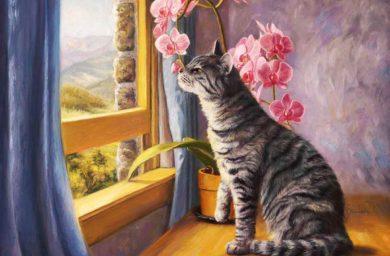 Стихи посвященые памяти умершего питомца кошки