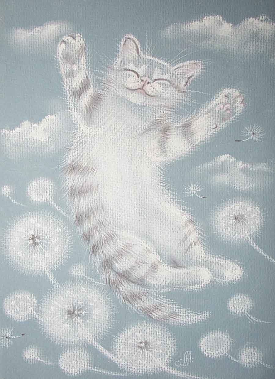 В память о котах стихи