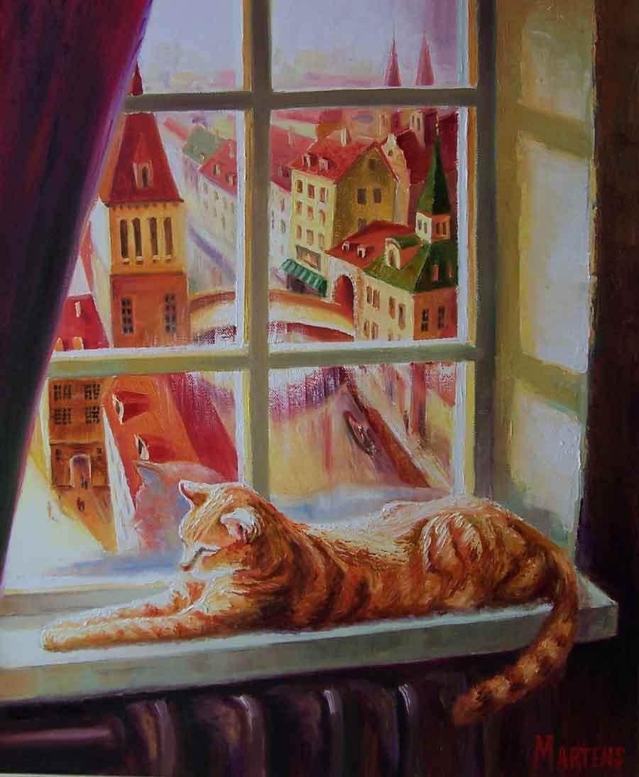 Стихи в память о кошке