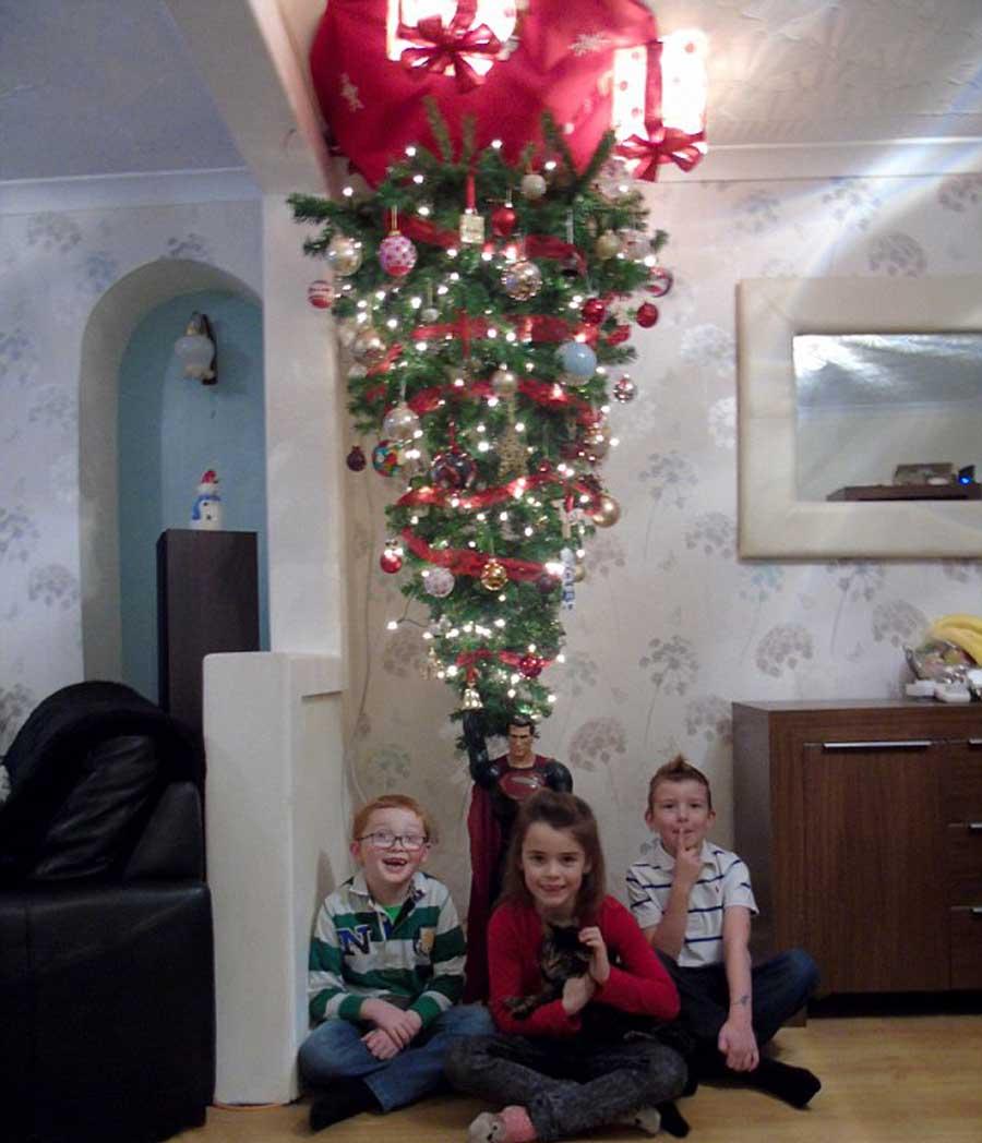 из-за картинка с елкой новогодней на потолке получиться мягкое тесто