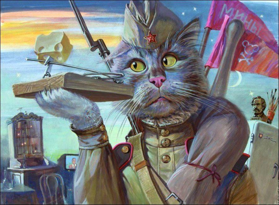картинки кошки с днем защитника отечества обладает собственным узнаваемым